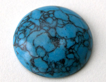 Cabuchon 25x6mm - Turquoise