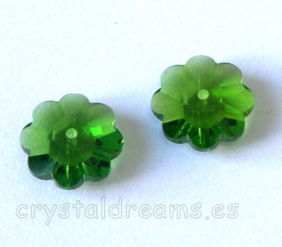 3700 Swarovski Elements - Fern Green - 10mm
