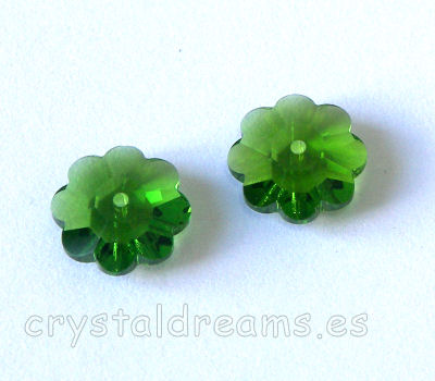 3700 Swarovski Elements - Fern Green - 8mm