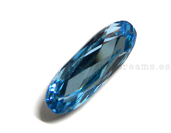 4161 Swarovski Elements® - 21x7mm - Aquamarine