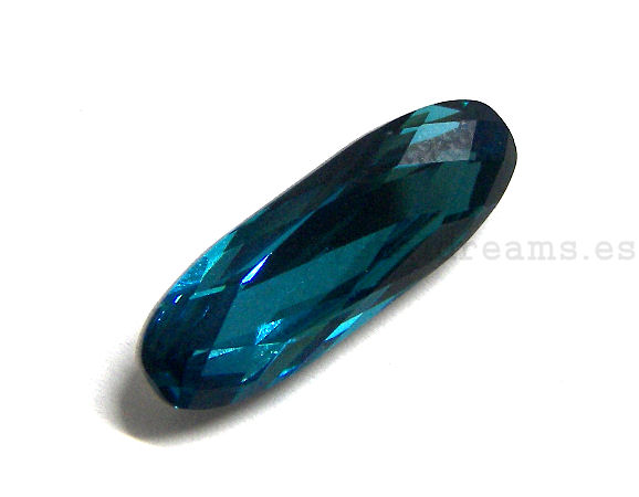 4161 Swarovski Elements® - 21x7mm - Indicolite