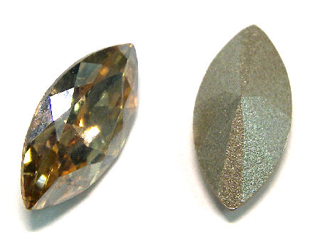 Navette Swarovski Elements 4227/4228 10x5mm - Golden Shadow