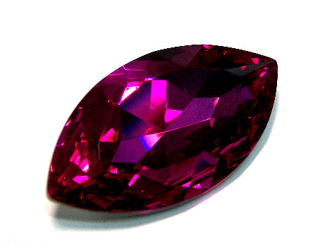 Navette Swarovski Elements 4227 - 32x17mm - Fuchsia