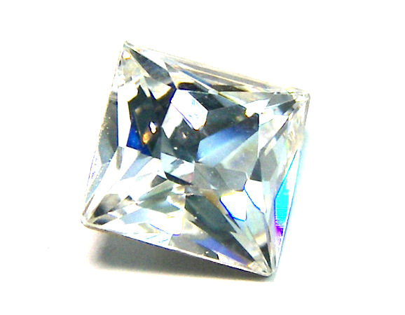 4447 Swarovski Elements 8mm - Square - Crystal
