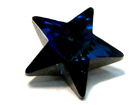 4745 Swarovski Elements Star - 10mm - Jet Blue