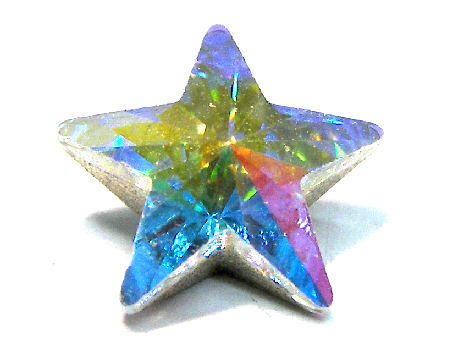 4745 Swarovski Elements Star - 10mm - Crystal AB