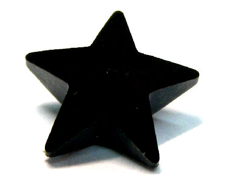 4745 Swarovski Elements Star - 10mm - Jet
