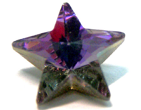 4745 Swarovski Elements Star - 10mm - Crystal Vitrail Light