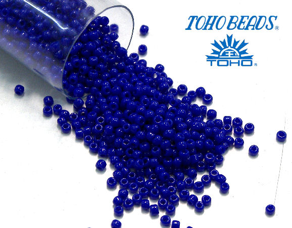 11/0 Toho - rocalla - Opaque Navy Blue - 5gr. col.48