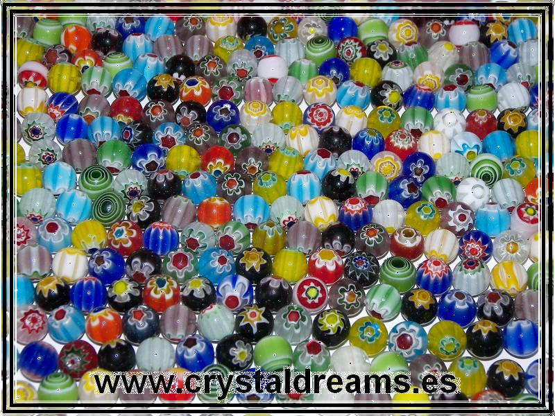 Murano Bolas 4mm Mix