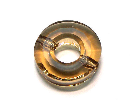 5139 Swarovski Elements® Donut 12,5mm - Lt. Colorado Topaz