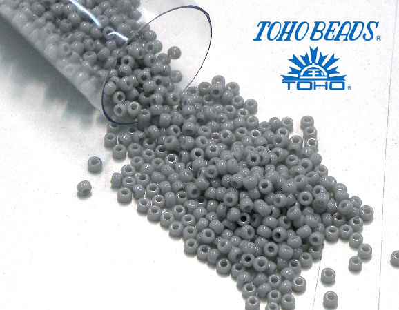 11/0 Toho - rocalla - Opaque Gray - 5gr. col.53