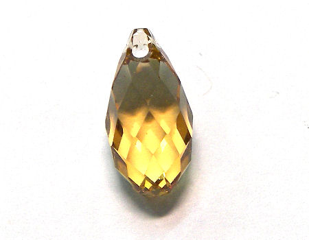 6010 gota Swarovski Elements® 13x6,5 mm Light Colorado Topaz