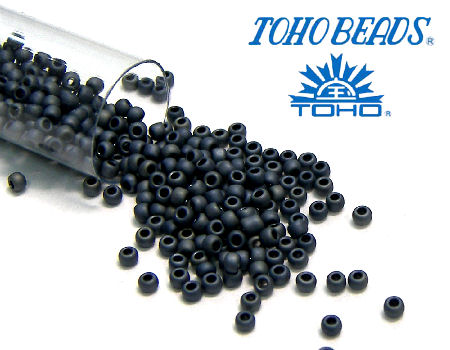 11/0 Toho - rocalla - Mate Color Gun Metal - 5gr. col.612