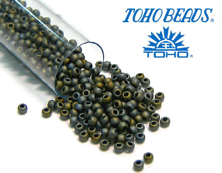 11/0 Toho - rocalla - Matte Color Iris Grey - 5gr. col.613