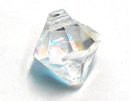 6301 Swarovski Elements Bicone - 6mm Crystal AB