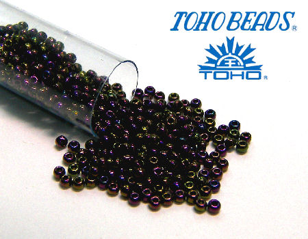 11/0 Toho - rocalla - Met. Iris Purple - 5gr. col.85
