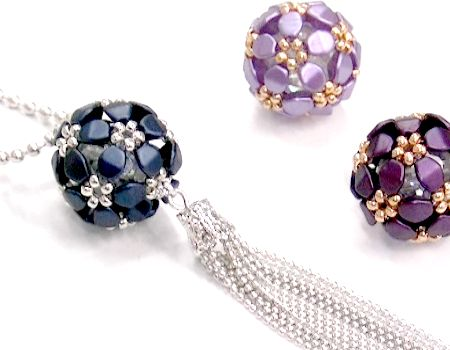8f60d58bde4e Tutorial Pentabola con Pinch Beads -   Crystaldreams