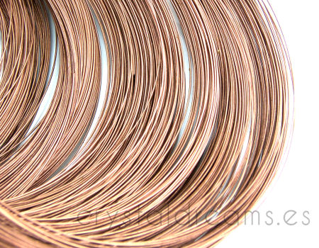 ACERO DE MEMORIA - 115mm - 0,6mm - Copper