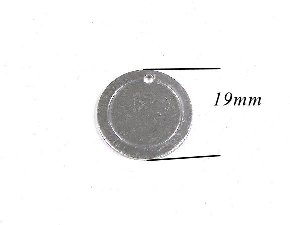 Chapa grabado de aluminio