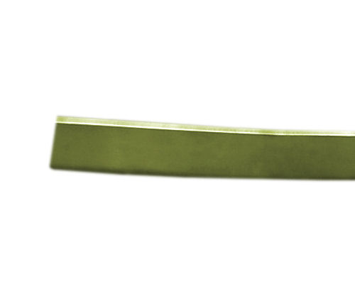 10 metros de Aluminio Plano 3mm - Color: Green