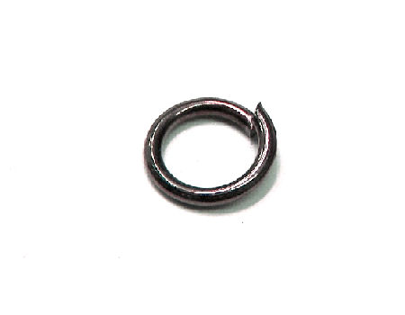 10x Anillas redonda 4mm - Espesor:0,8mm - Black