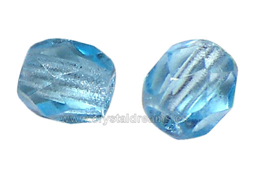 "Facetadas 6mm ""Aquamarine"""