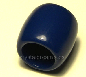 Barrilete 10x10mm Blue - Agujero: 6,5mm