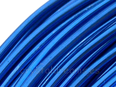CABLE DE ALUMINIO - 1,5mm - SKY BLUE x 1m