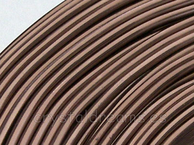 12 metros CABLE DE ALUMINIO - 1,5mm - BROWN