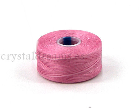 Hilo S-Lon D 0,30mm Bobina 73 metros - Color: Pink