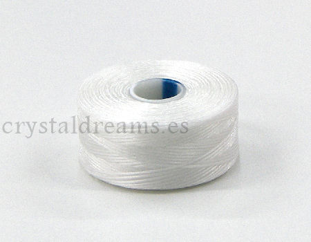Hilo S-Lon AA 0,20mm Bobina 68 metros - Color: White