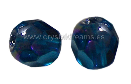 Facetadas 4mm CAPRI BLUE AB