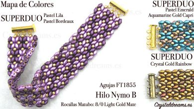 PULSERAS - TUTORIALES   Crystaldreams 746678f8176