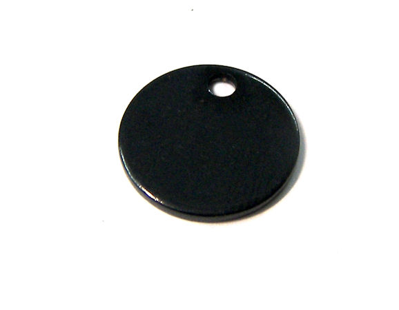 Stainless stell 13mm Black 304 Hole:1,4mm