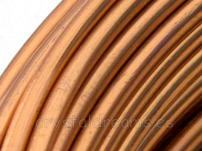 CABLE DE ALUMINIO - 1mm - COBRE x 1m