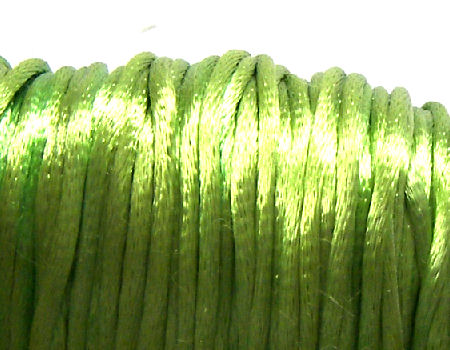 Cola de ratón de Algodón/Rayon 2mm - Apple Green