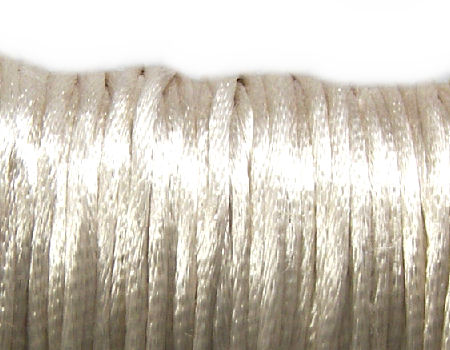 Cola de ratón de Algodón/Rayon 2mm - Light Beige