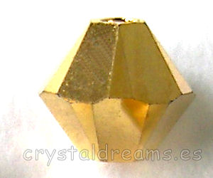 5328 4mm Crystal Aurum 2x