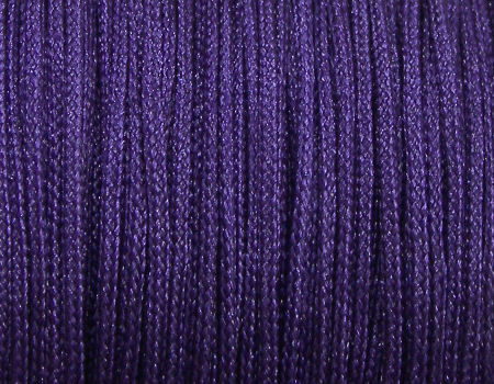 Bobina hilo nylon trenzado Dark Purple 0.8mm 35m x shamballa