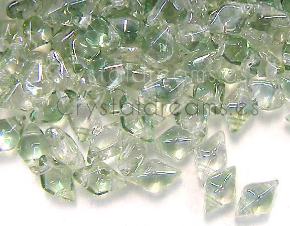 DiamonDUO Beads 8x5mm - 5gr. - Color: LUMI MINT