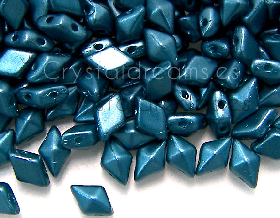 DiamonDUO Beads 8x5mm - 5gr. - Color: PASTEL BLUE ZIRCON