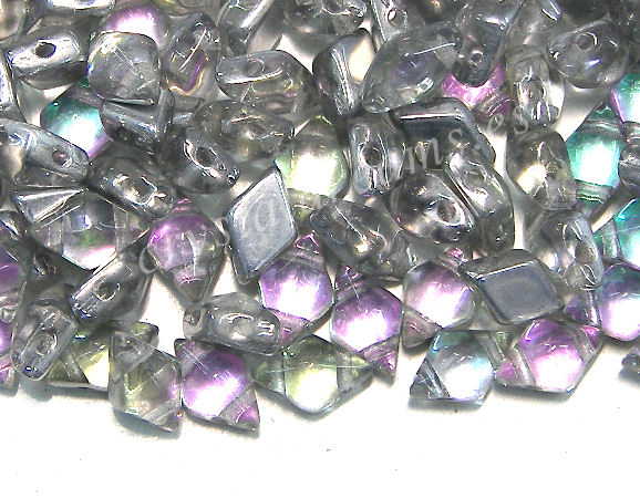 DiamonDUO Beads 8x5mm - 5gr. - Color: VITRAIL LIGHT