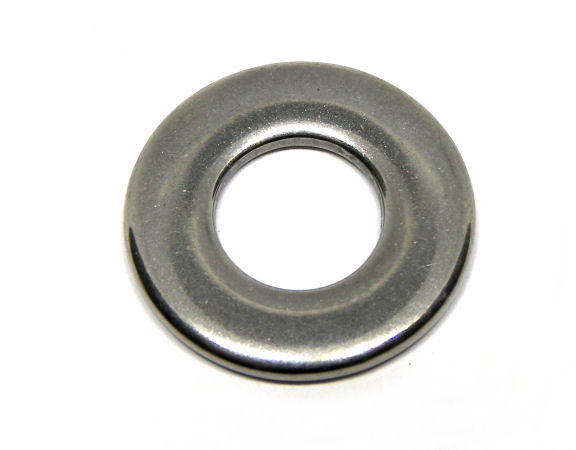 Stainless Steel Donut 25mm - Agujero 12mm