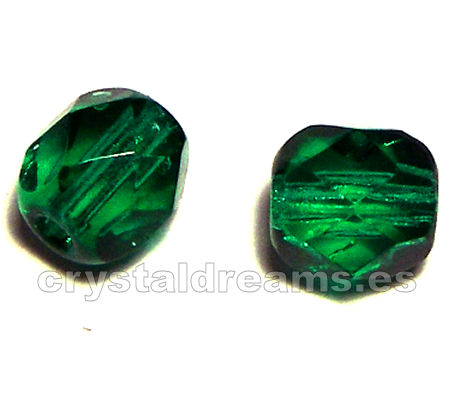 "Facetadas 6mm ""Emerald"""
