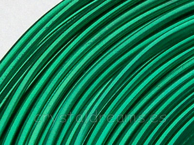 CABLE DE ALUMINIO - 1,5mm - EMERALD x 1m
