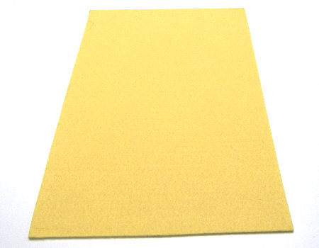 Plancha de fieltro - 3mm espesor - 45x30cm - Cream