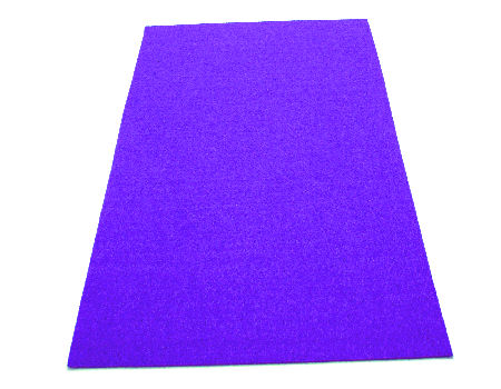 Plancha de fieltro soft 1mm espesor 20x30cm Purple