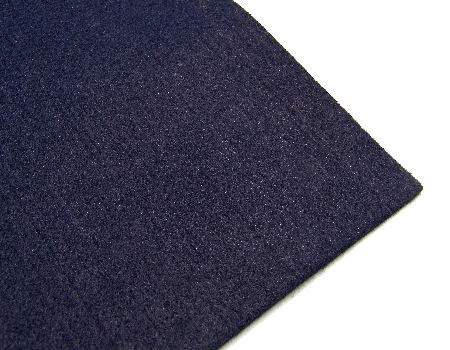 Plancha de fieltro - 3mm espesor - 60x40cm - Dark Blue