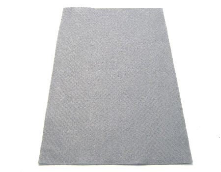 Plancha de fieltro soft 1mm espesor 20x30cm Light Grey